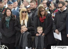 Nathan Cirillo's Son Attends One-Year Memorial In Ottawa