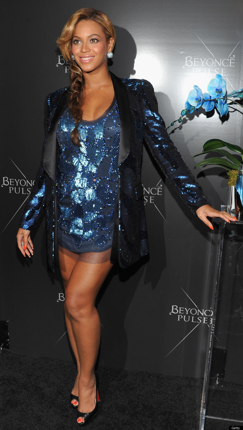Pregnant Beyonce Shows Off Her Legs (PHOTOS) | HuffPost
