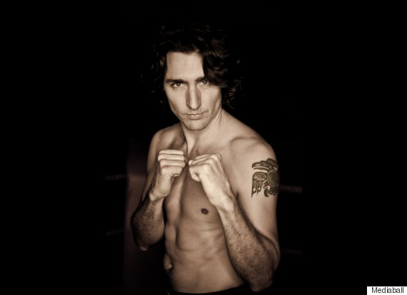 justin trudeau boxing tattoo