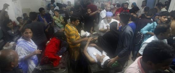 BANGLADESH BOMBING OF A SHIITE PROCESSION