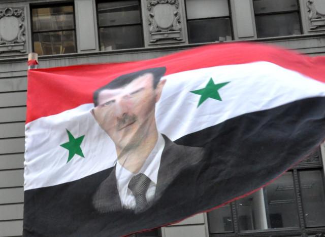 syria war assad