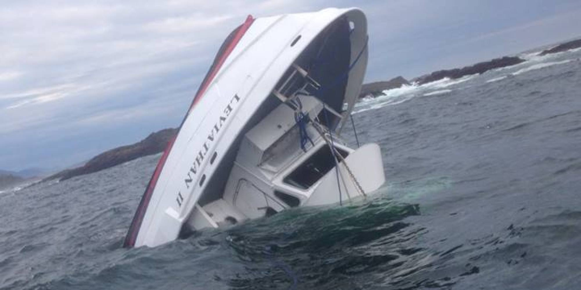 Tofino Whale Watching Boat Knocked Over By Giant Wave Calgary Man