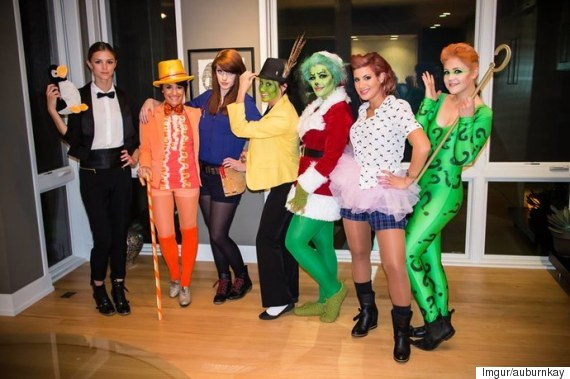 jim carey halloween costumes