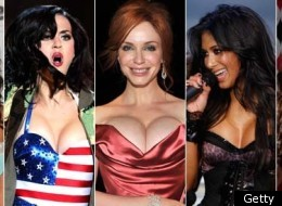 PHOTOS: Battle Of The Cleavage