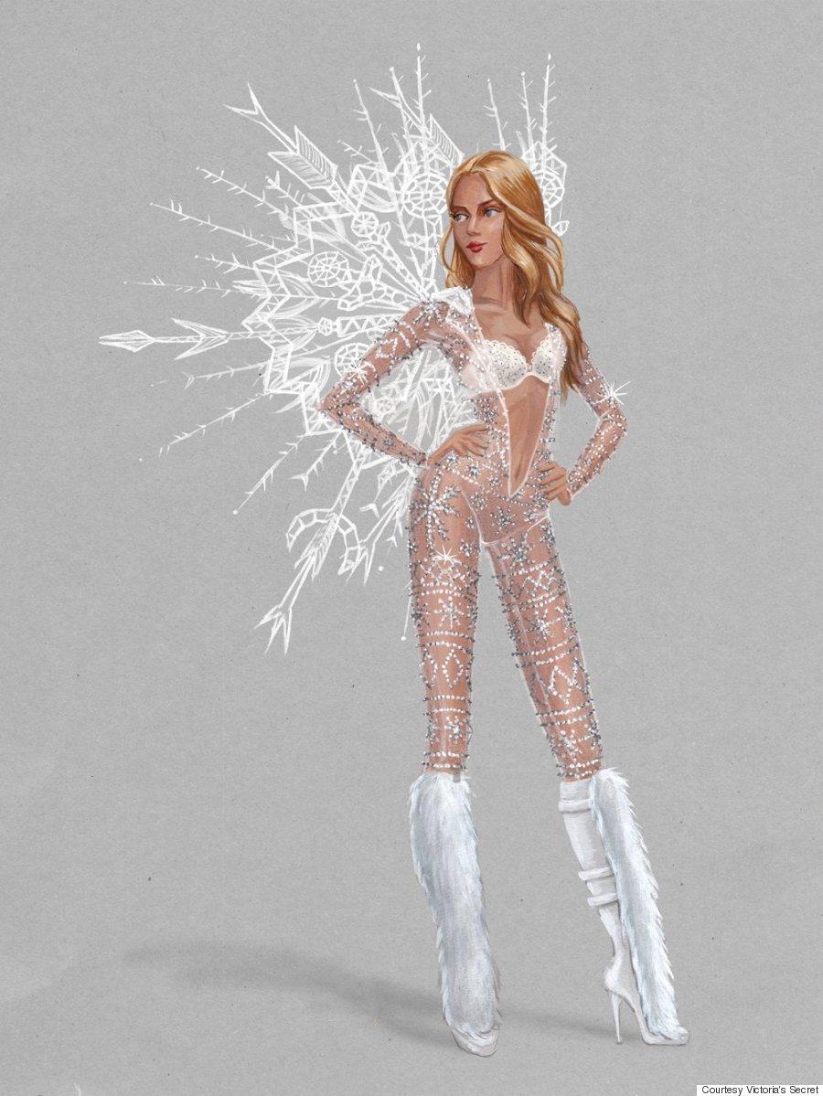 vs fashion show ice angels