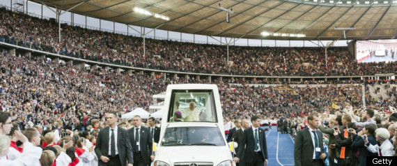 POPE GERMANY VISIT