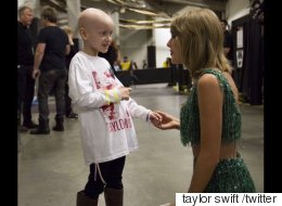 Taylor Swift Made This 6-Year-Old With Cancer A Very Happy Girl
