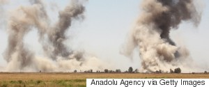 BOMBING ISIS