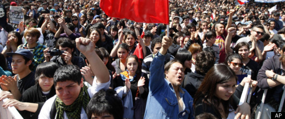CHILE STUDENTS PROTESTS