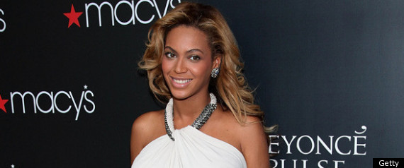 Beyonce Launches Pulse Perfume Wearing Lanvin
