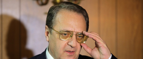 RUSSIAN DEPUTY FOREIGN MINISTER BOGDANOV