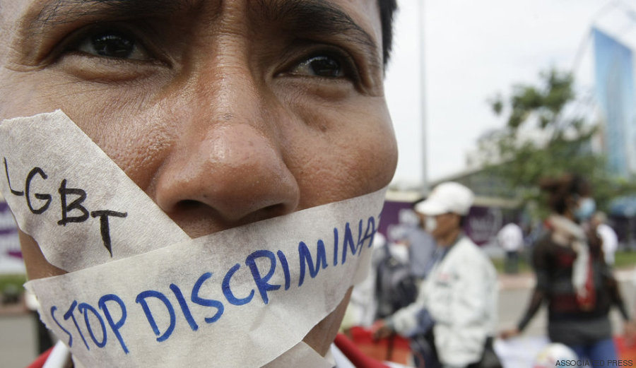 manifestante em phnom penh