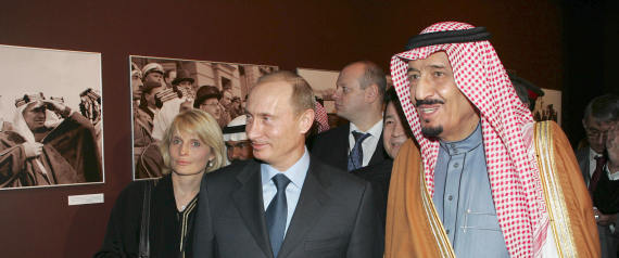 VLADIMIR PUTIN AND KING SALMAN