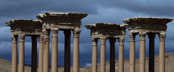 THE DESTRUCTION OF THE ANCIENT CITY OF PALMYRA