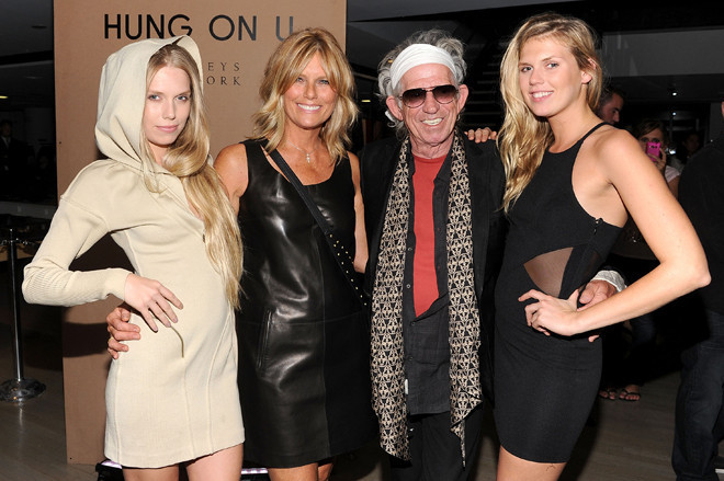 Patti Hansen Borrows From Her Daughters's Closets   HuffPost