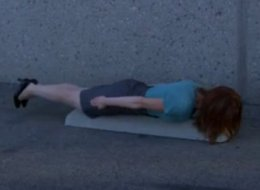 WATCH: 'The Office' Tries Planking