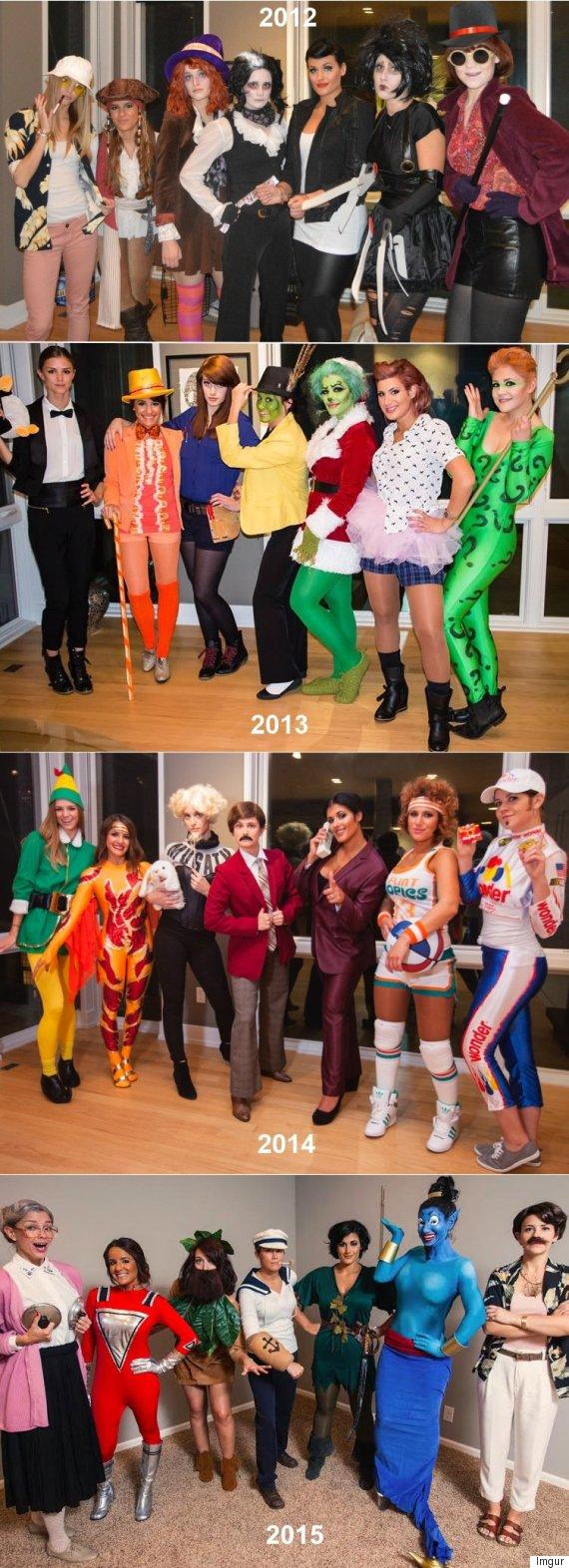 group halloween costume