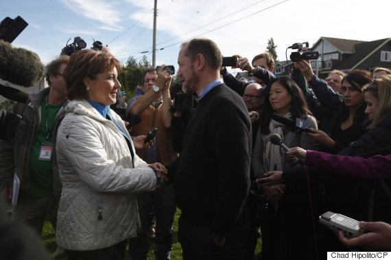 christy clark rupert potter