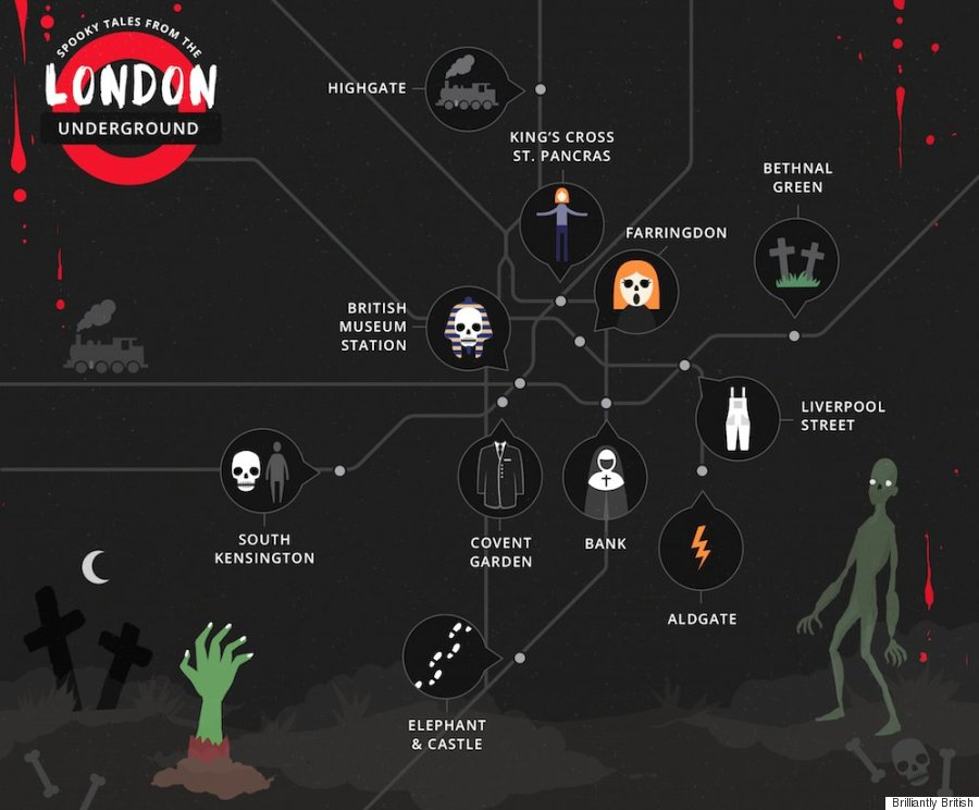 london underground haunted