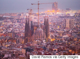 Pictures Capture Final Phase Of Construction On La Sagrada Familia Basilica