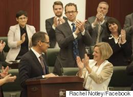 Notley And Her Cabinet Work To Sell The Public On New Budget