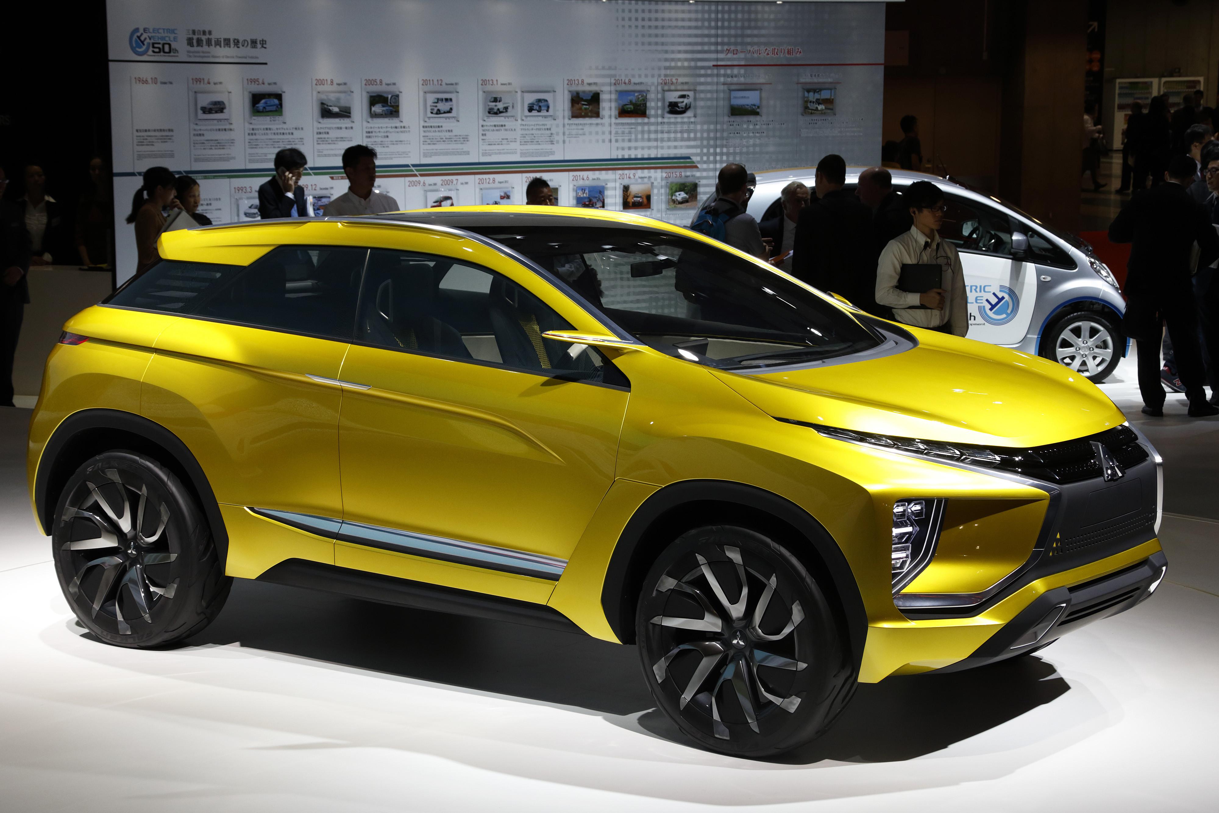mitsubish ex concept car
