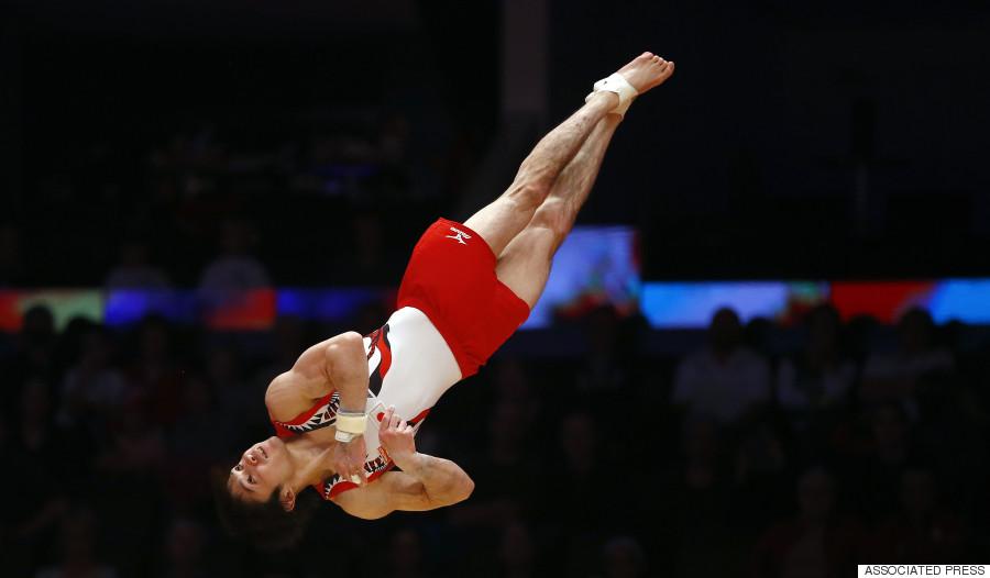 gymnastics world championships glasgow 2015 shirai