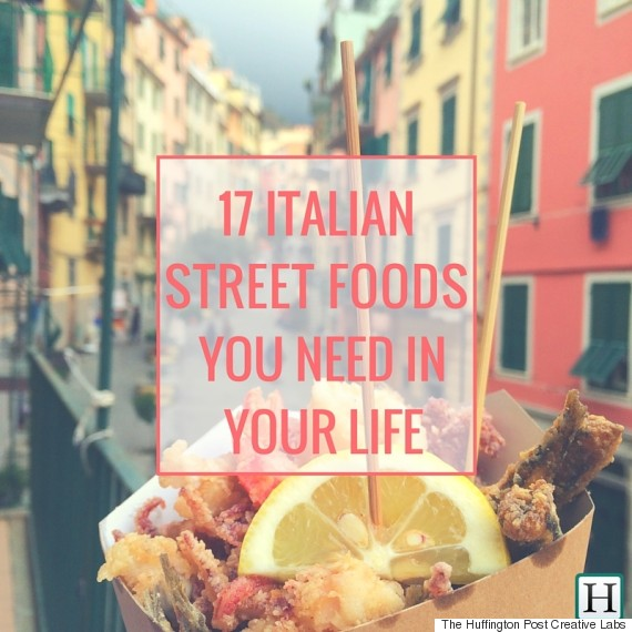 17 Classic Italian Street Foods That Everyone Should Try Once ...