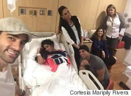 Maripily, hospitalizada por accidente en '¡Sí Se Puede!'