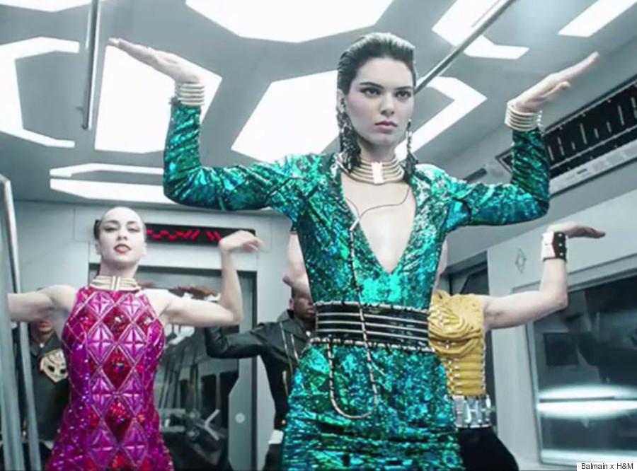 balmain hm music video
