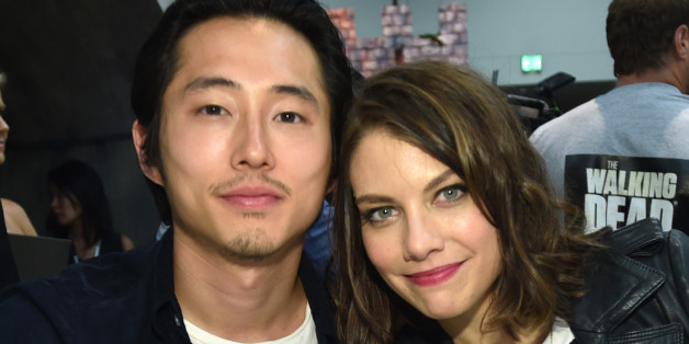 Is Lauren Cohan Married? This Is What We Know About Her ... |Lauren Cohan And Steven Yeun 2014