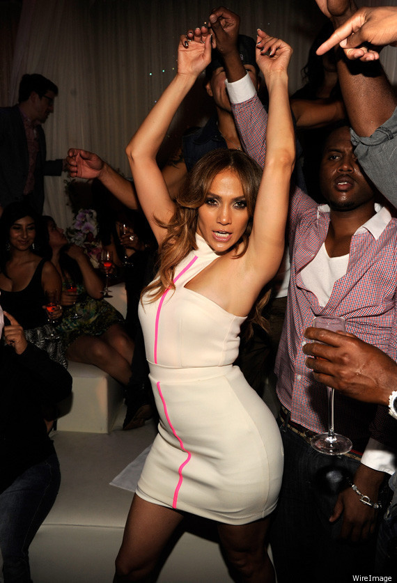 Jennifer Lopez Parties In Vegas After iHeartRadio Music Festival