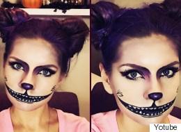 Disfraces para Halloween con solo maquillaje y peinado