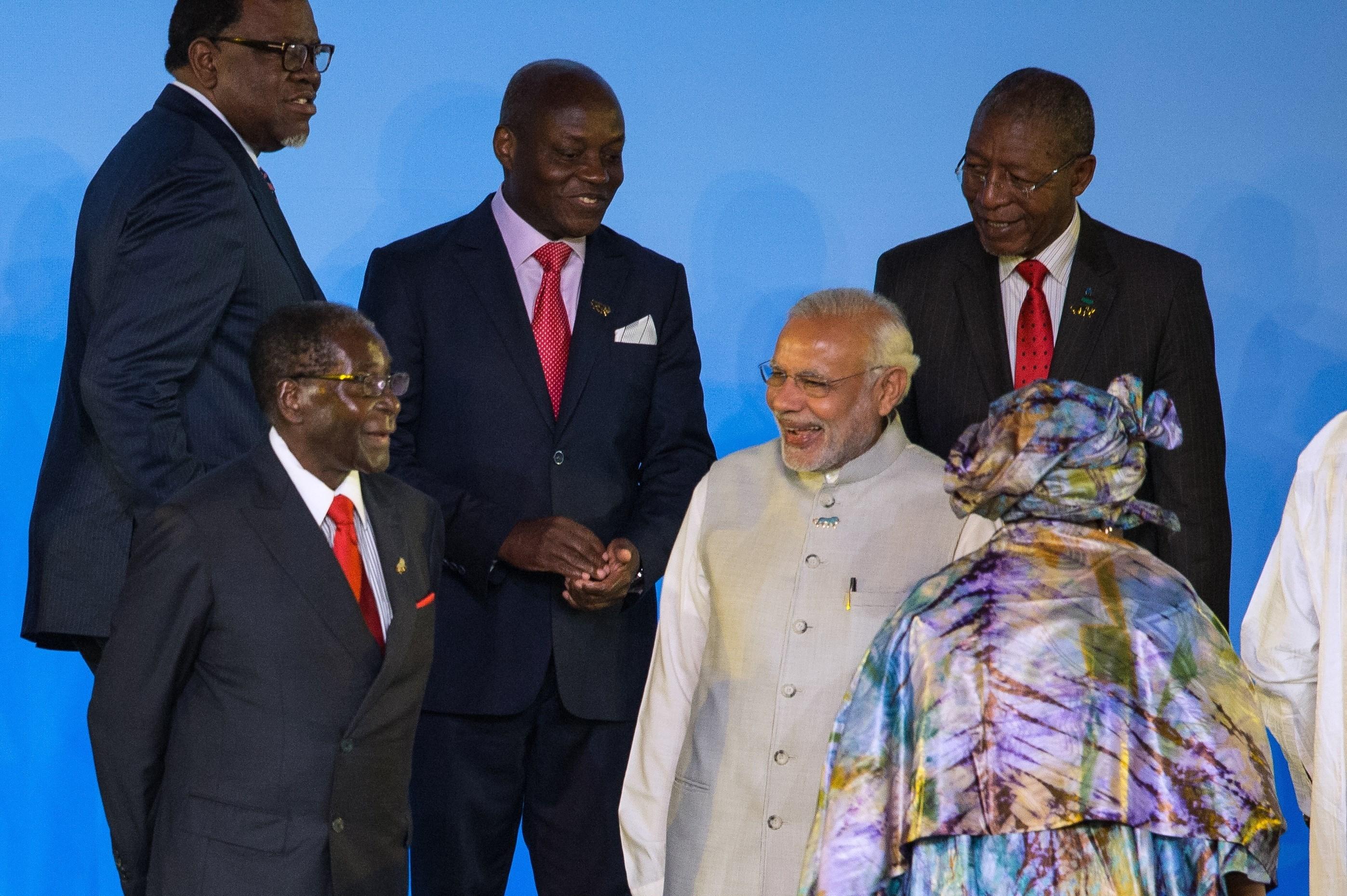 mugabe india summit