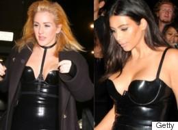 Ellie Goulding Steals Kim Kardashian's Style For Halloween