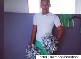 Three Cheers For Terrell Lawrence, The UK's First Male Cheerleader