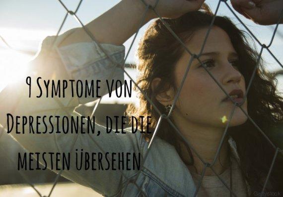 depressionen symptome