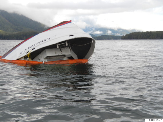 tofino boat sinking leviathan