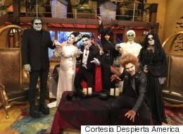 ¿'Hotel Transylvania'? ¡No! 'Despierta América' en Halloween