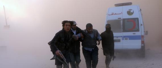 EXPLOSIVE BARRELS IN SYRIA