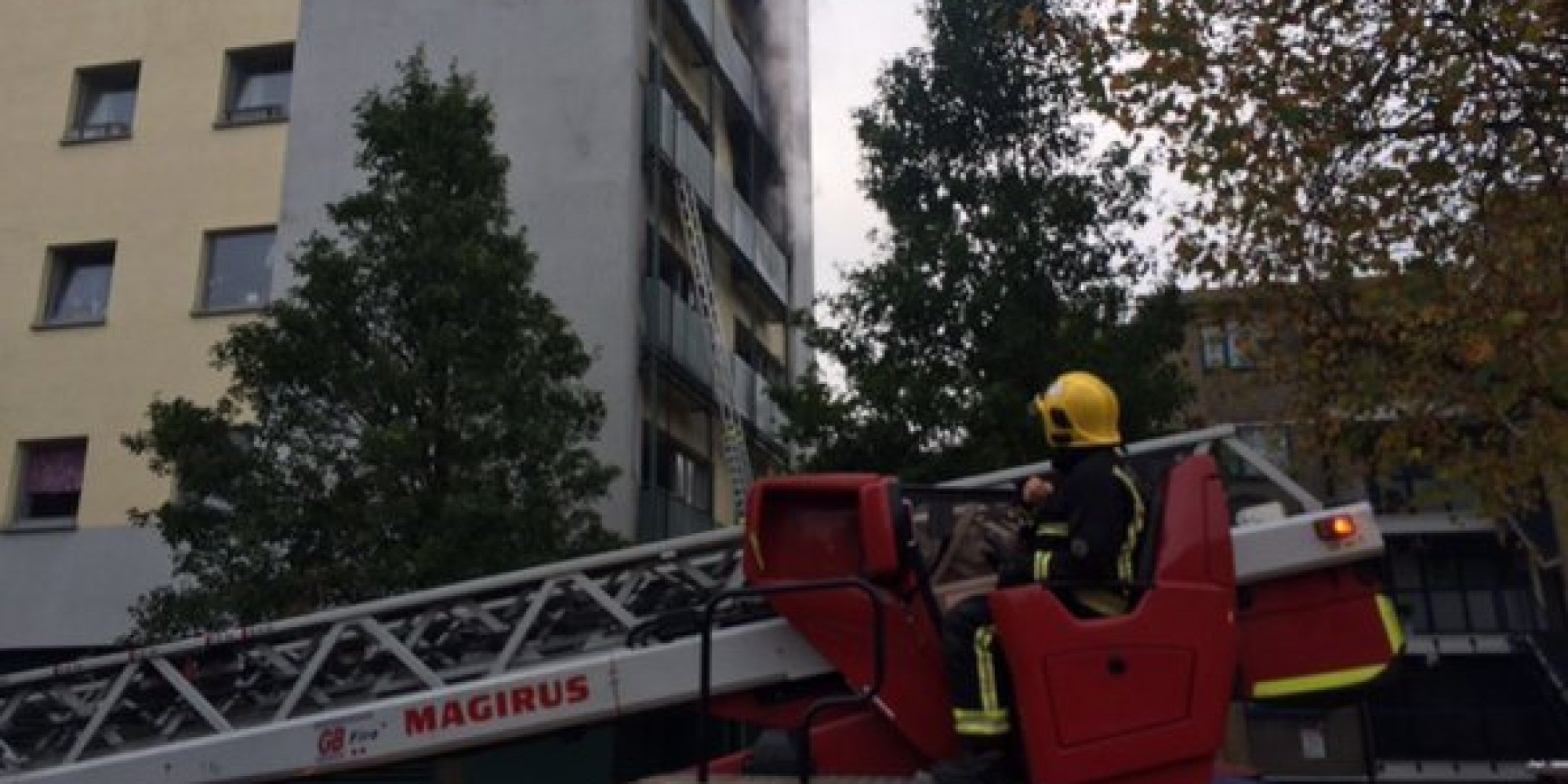 London Fire Brigade Rescues 50 After Adair Tower