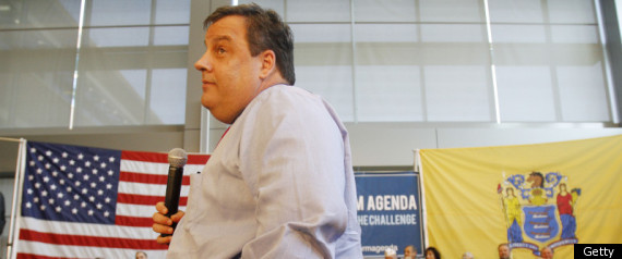 CHRIS CHRISTIE HAND ON HIP