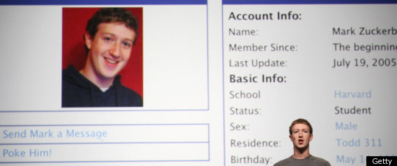 Facebook Zuckerburg