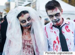 La marche des zombies en IMAGES (PHOTOS/VIDÉO)