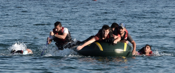 SYRIAN IMMIGRANTS AT SEA