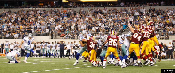COWBOYS REDSKINS