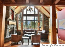LOOK: Beautiful Homes For Sale In The Alberta Rockies