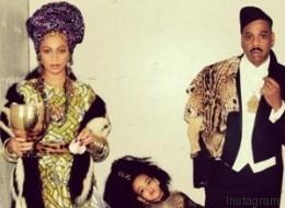 Beyoncé, Jay-Z et Blue Ivy dévoilent leurs costumes