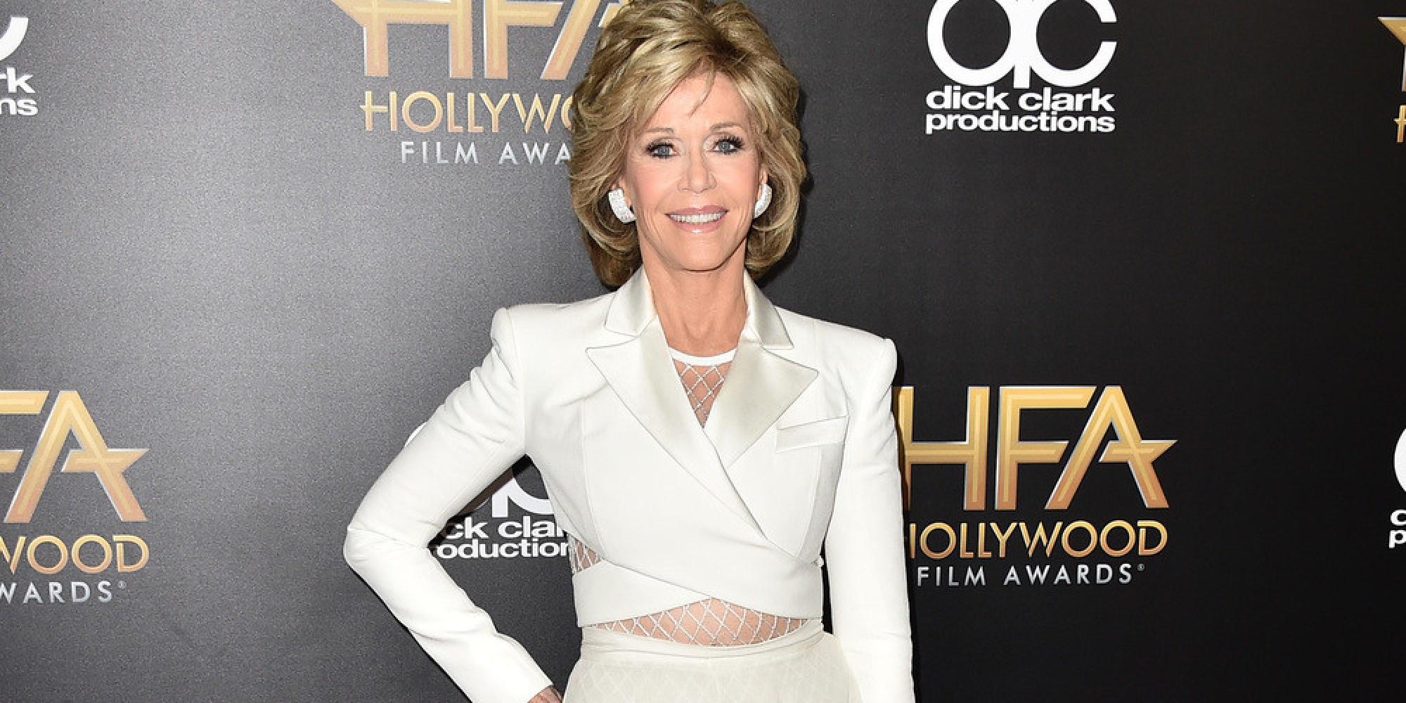 Jane Fonda machte bei den Hollywood Awards keine gute Figur