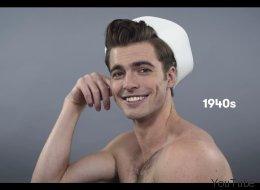 Voyez 100 ans de beauté masculine en moins de deux minutes (VIDÉO)